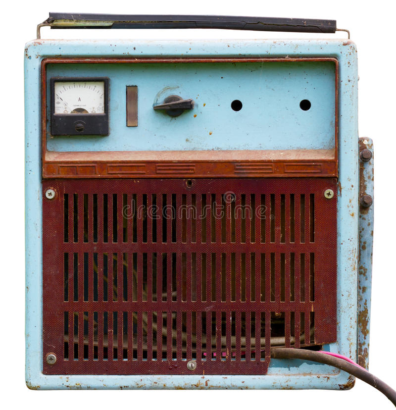 Download Battery Charger stock image. Image of brown, made, ussr - 20756483