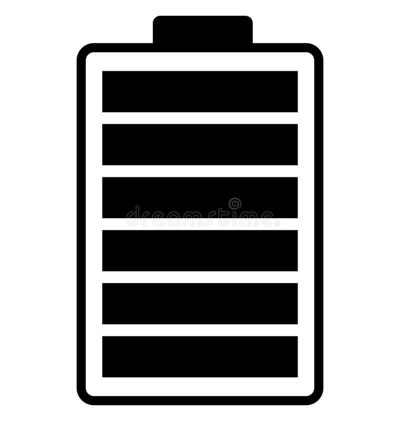 Battery charging, battery level, Icon vector illustration
