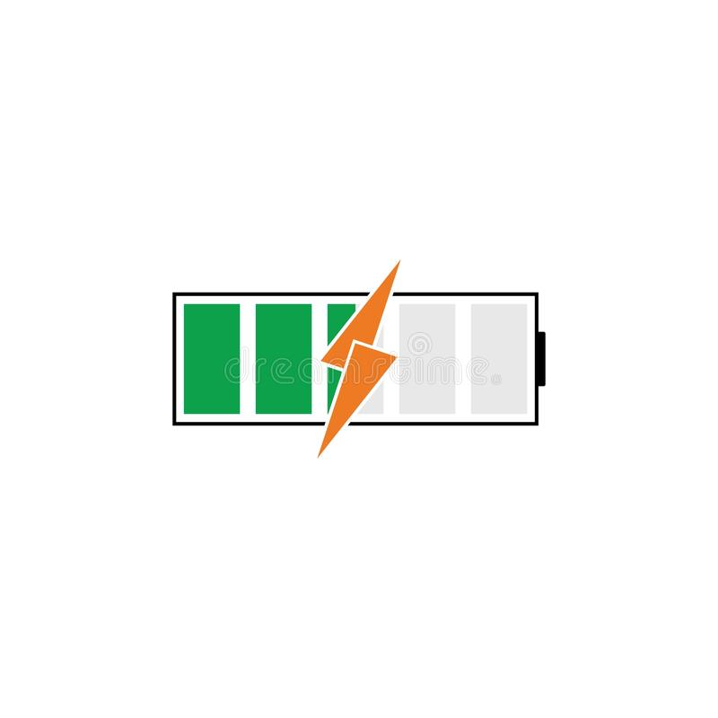 Battery Energy Vector Logo Template. Icon, power, illustration, solar, electric, electricity, symbol, icons, design, background, technology, charge, set vector illustration