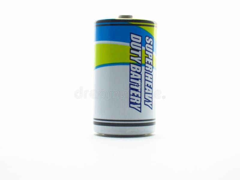 Battery. Heavy duty battery size D stock photography