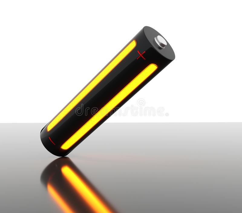 Image of a modern battery royalty free stock images