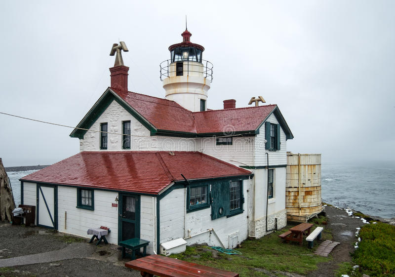 Battery Point Light royalty free stock images
