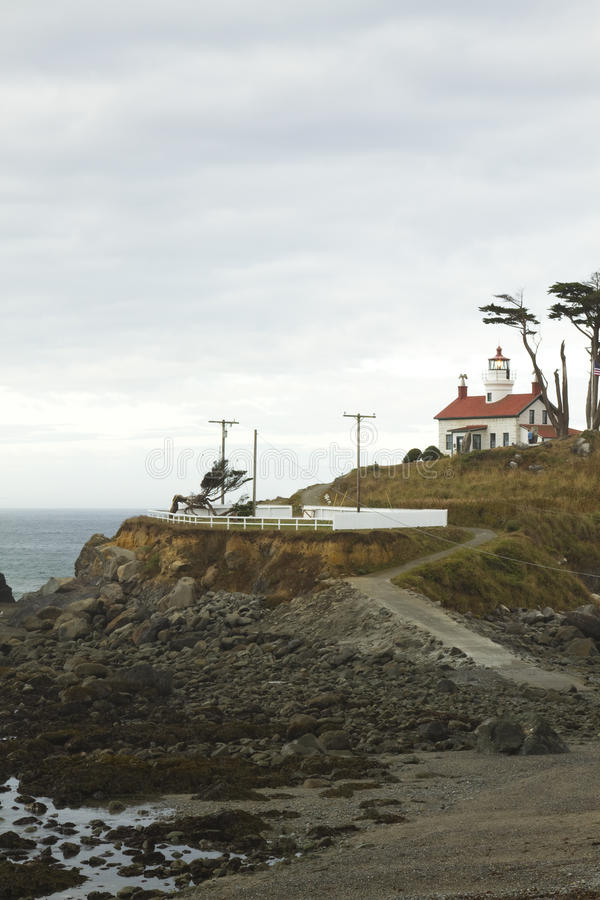 Download Battery Point Lighthouse stock image. Image of nautical - 22030051
