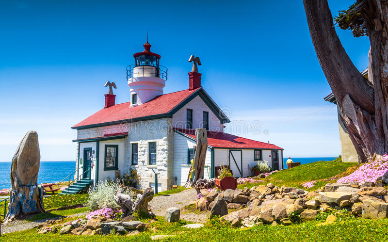 Battery Point Lighthouse royalty free stock photo