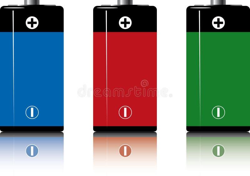 batterys ilustracji
