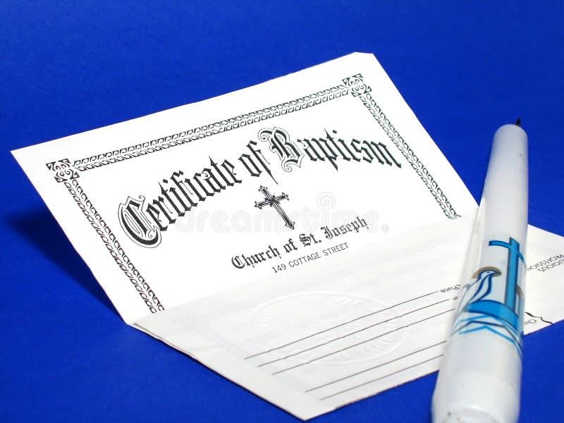 Battesimo immagine stock