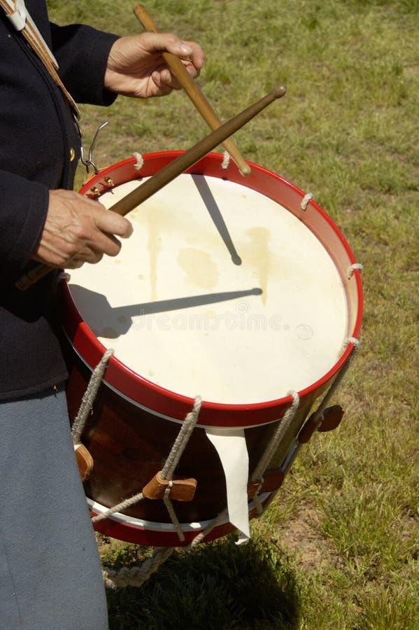 Batteur 2 de guerre civile photo libre de droits