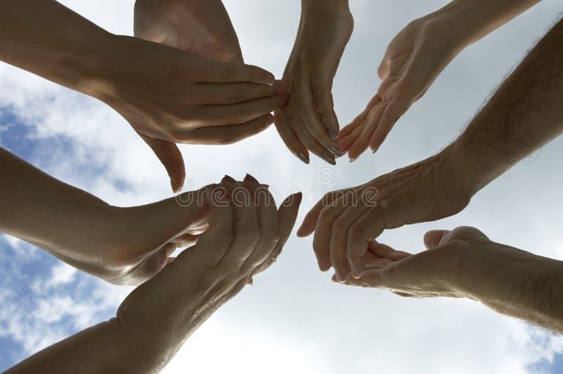 Battez vos mains ! image stock