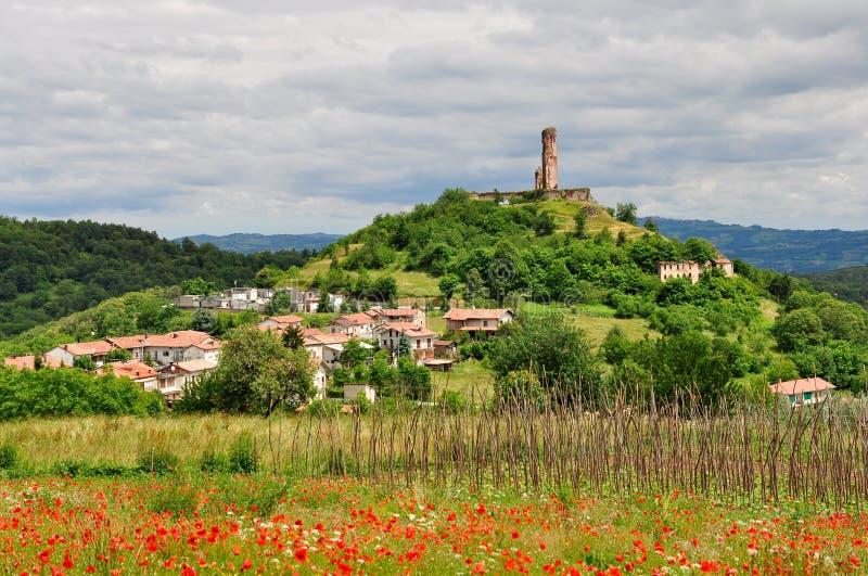 Battifollo, Piedmont, Italia fotos de archivo libres de regalías