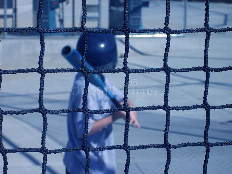Batting Cage royalty free stock images
