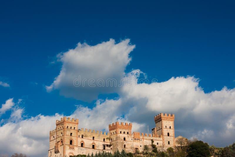 battipaglia城堡 库存图片