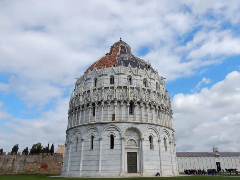 Battistero di Pisa zdjęcie royalty free