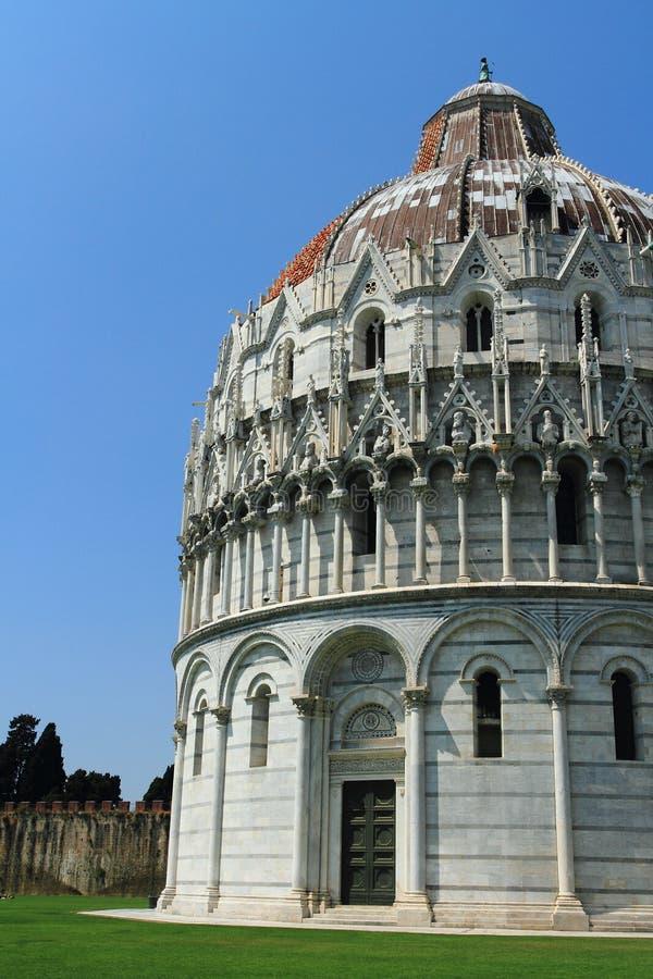 Battistero Di San Giovanni - Pisa - Italy Stock Photo ...