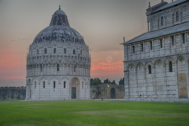Battistero (Pisa) stock fotografie