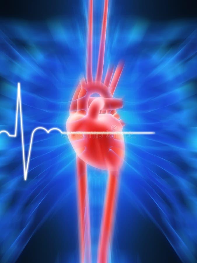 Battito cardiaco royalty illustrazione gratis