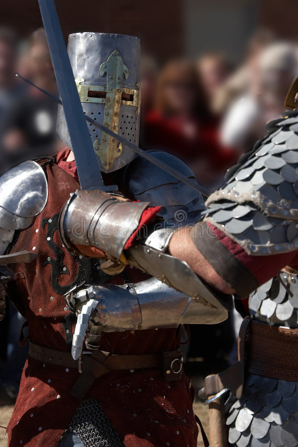 In Battle royalty free stock photography