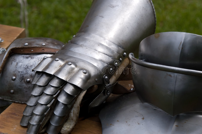 Before the battle royalty free stock photo