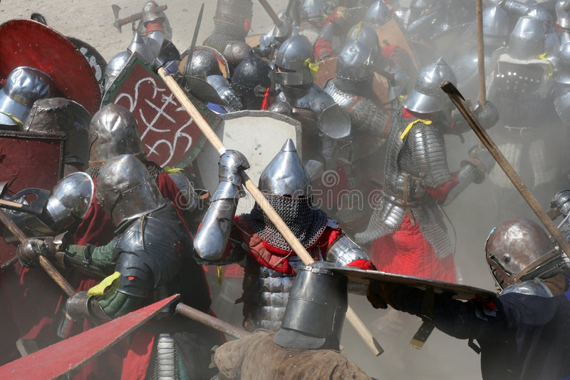 Battle royalty free stock images