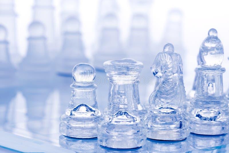 Battle Chess Stock Photography