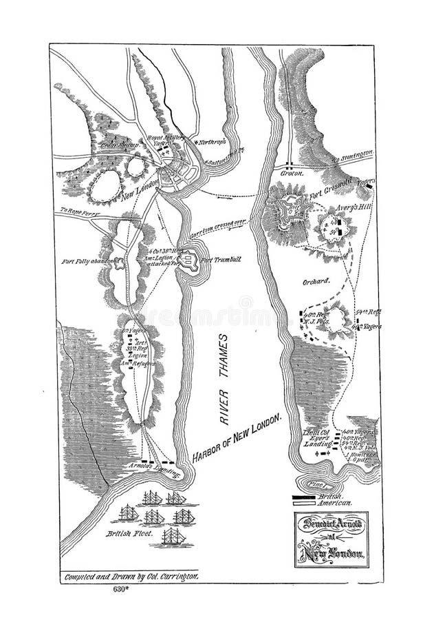 Battle maps stock image