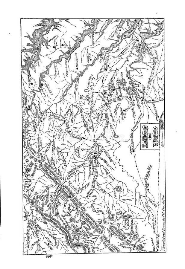 Battle maps stock photos