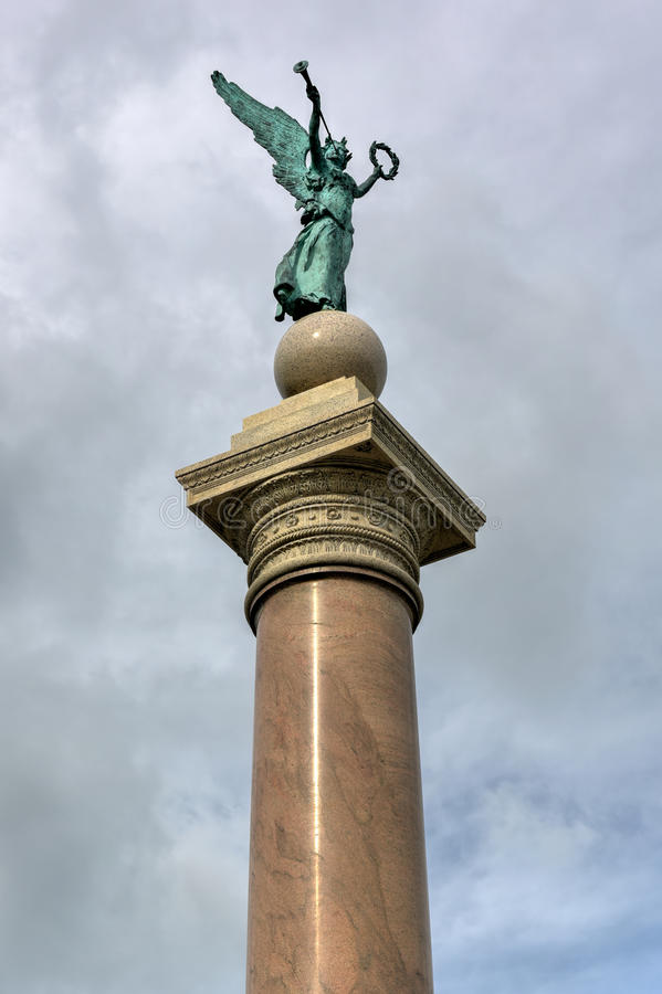 Battle Monument at US Military Academy royalty free stock photo