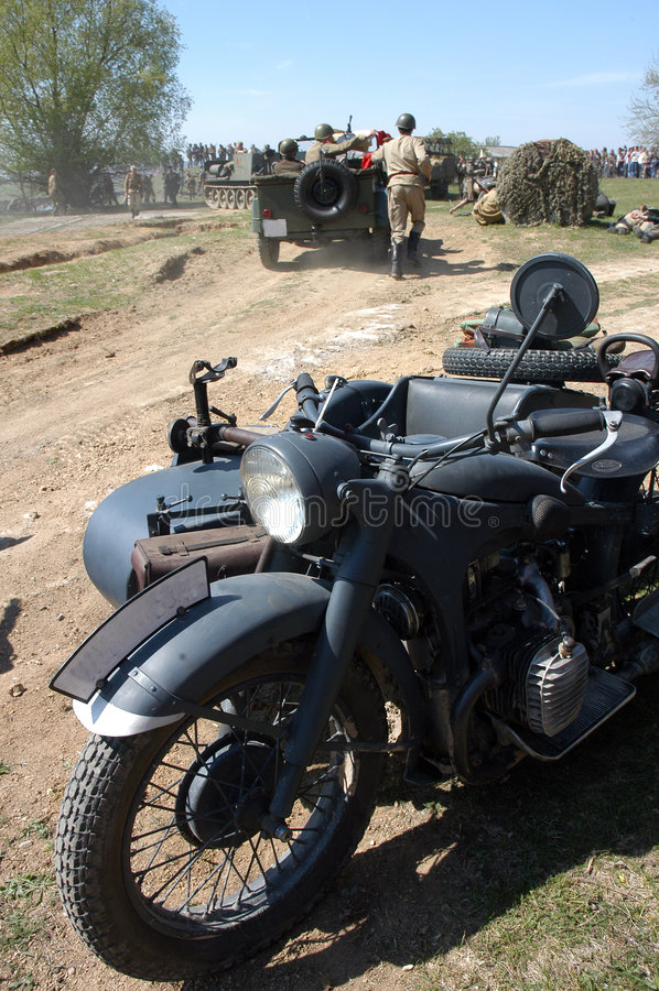 Download Battle at Orechov stock photo. Image of malinovsky, nacist - 2354208