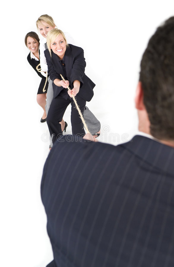 Battle Of The Sexes Stock Photography