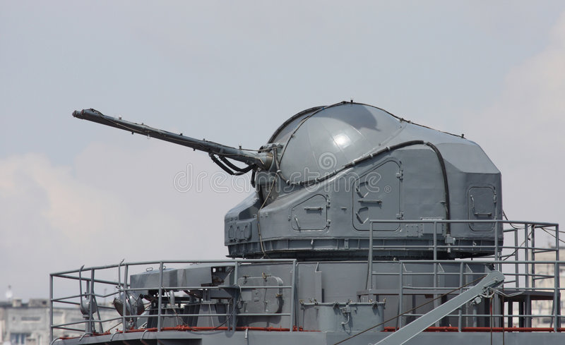 Download Battle Ship Canon Royalty Free Stock Photography - Image: 7587377