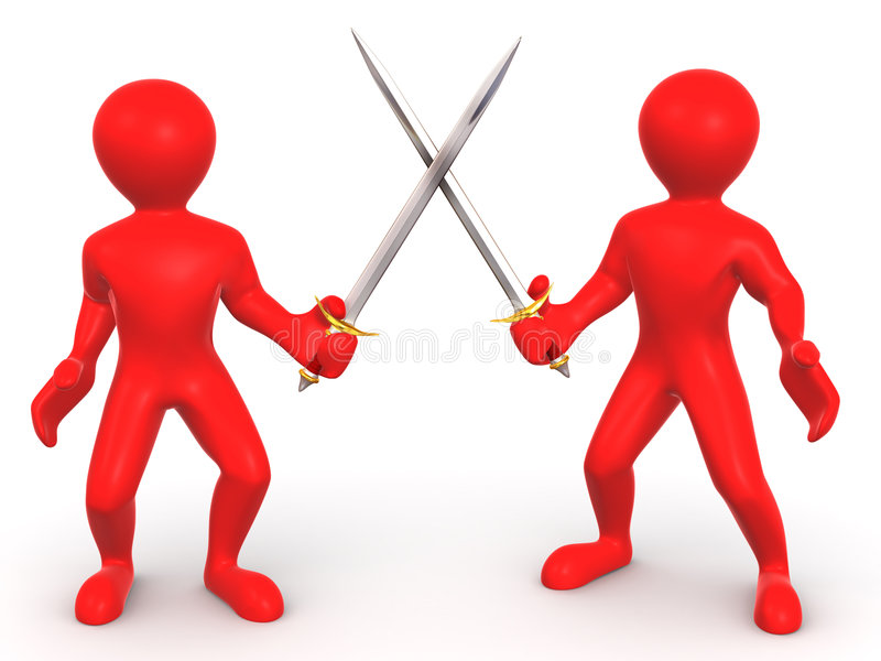Download Battle Swords stock illustration. Illustration of male - 7564047