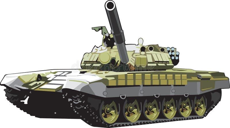 Battle Tank Royalty Free Stock Photography