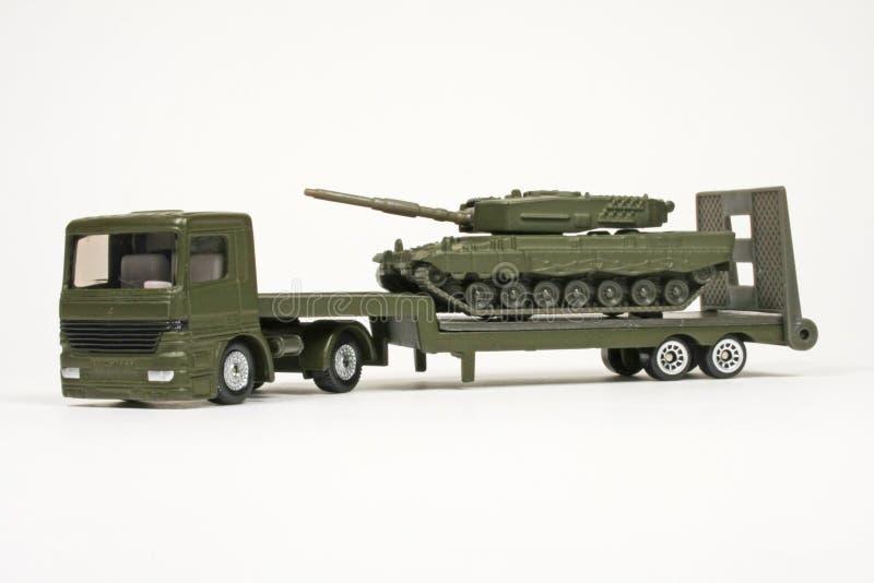 Download Battle Tank Transporter stock image. Image of siku, battle - 12832681