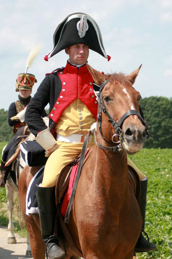 Battle of Waterloo royalty free stock images