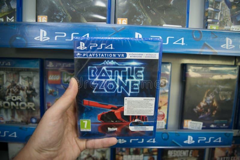 Battle zone VR stock photo