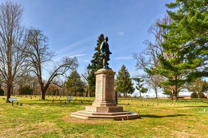 Battlefield - Fredericksburg, Virginia. Cannons on a Battlefield in Fredericksburg, Virginia royalty free stock photography