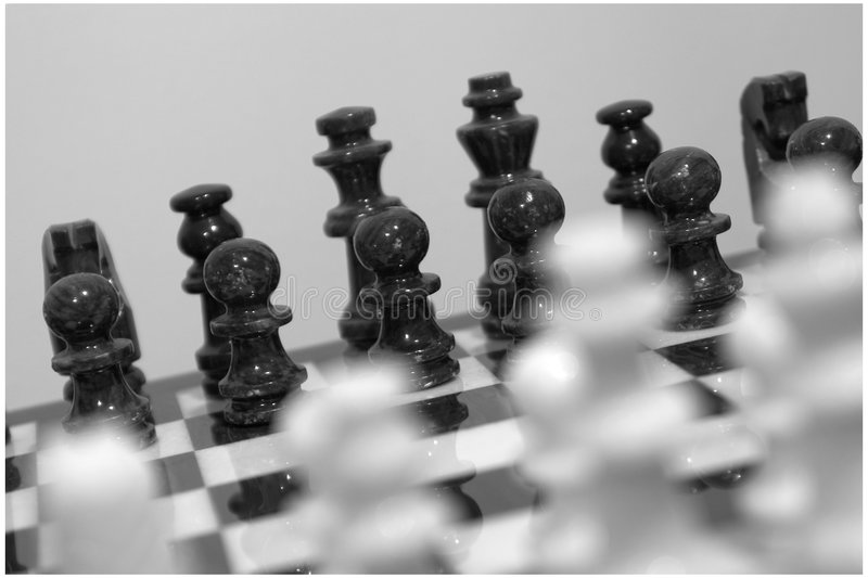 Download Battleground stock image. Image of chess, chessboard, pawn - 49395