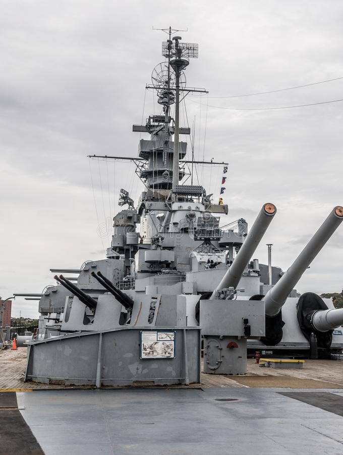 Battleship Massachusetts Museum Editorial Image - Image of