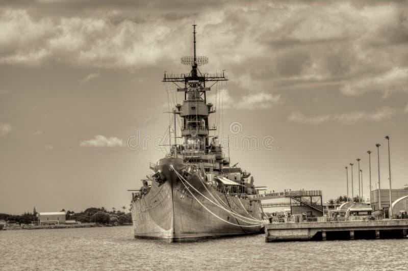 Battleship Missouri Stock Image