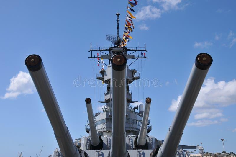 Battleship USS Missouri Stock Photography