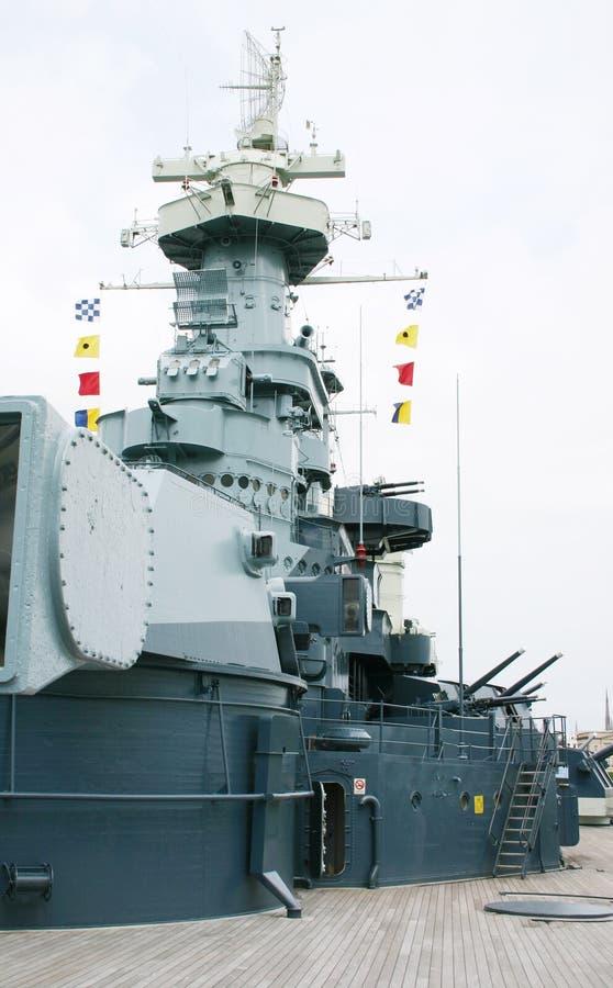 battleship4 免版税库存图片