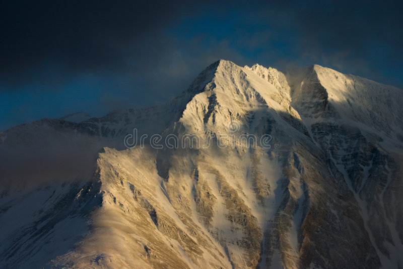 Battlihorn ridge, Swiss Alps royalty free stock photos