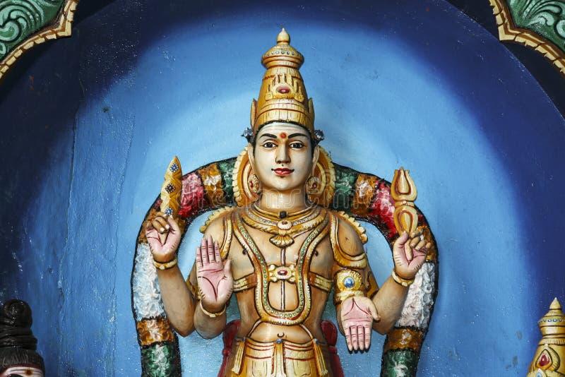 Batu cava a arte hindu malaysia da parede fotografia de stock royalty free