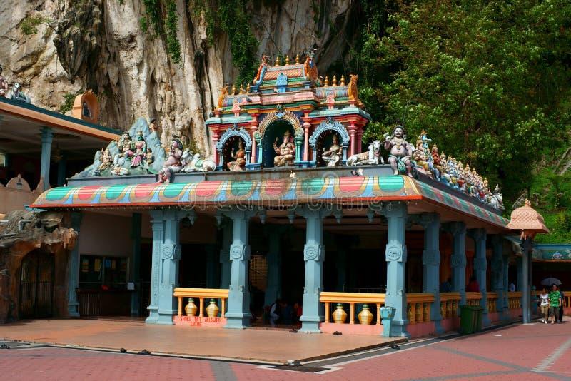 Batu Caves. Hindu shrine and temple in Kuala Lumpur, Malaysia royalty free stock photo