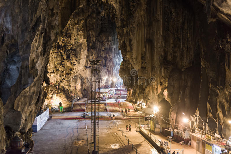 Batu Caves interior royalty free stock photo