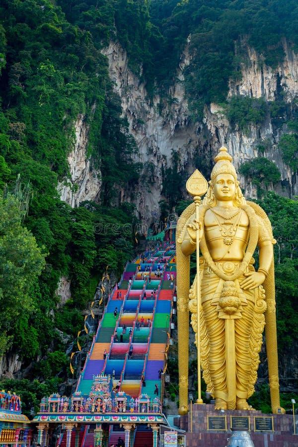 Batu caves in Kuala Lumpur. Malaysia stock images