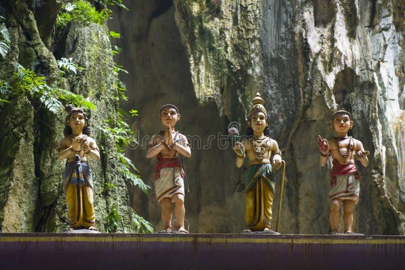 Batu caves temple, Kuala Lumpur royalty free stock photos