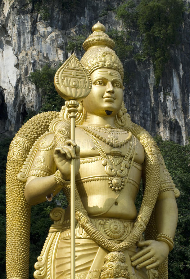 Batu caves temple, Malaysia stock images