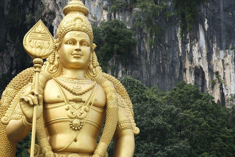 Batu desaba Kuala Lumpur imagem de stock