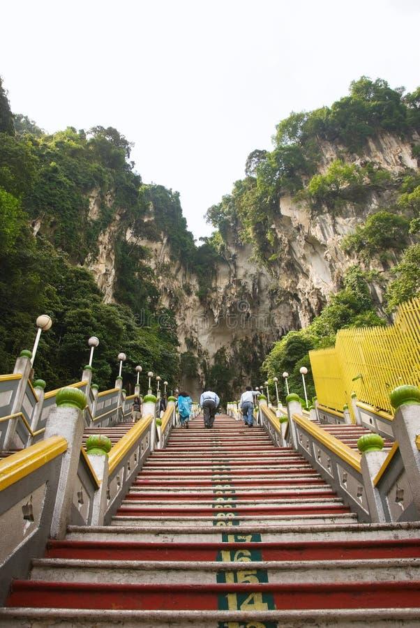 Batu desaba o templo, Kuala Lumpur fotografia de stock