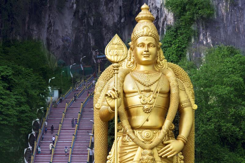 Batu grottor, Kuala Lumpur, malaysia royaltyfri bild